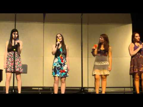 Blackbird- Acapella Group- Highland Park High School May 2011