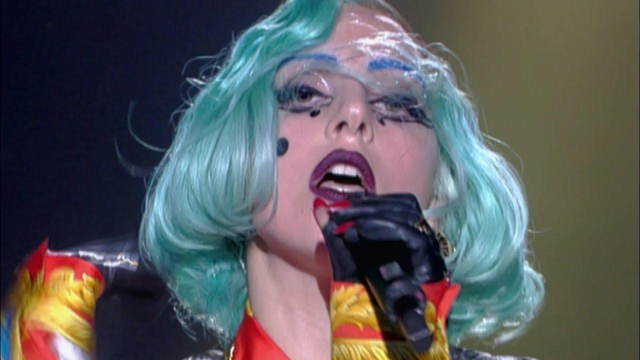 Lady Gaga - Born This Way Live at Taratata (July 2nd 2011)