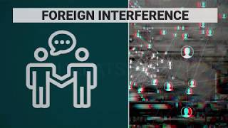 How will the government combat foreign interference during the 2019 campaign?