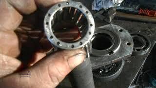 Ремонт трактора т 40 ВОМ. Привод вала отбора мощности.