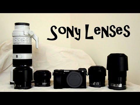 Sony E Mount Lens 70-200mm Vs 18-55mm Vs 55-210mm Vs 35 Vs 50mm