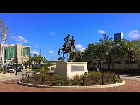 Jacksonville FL - St Johns River - Landing - Downtown