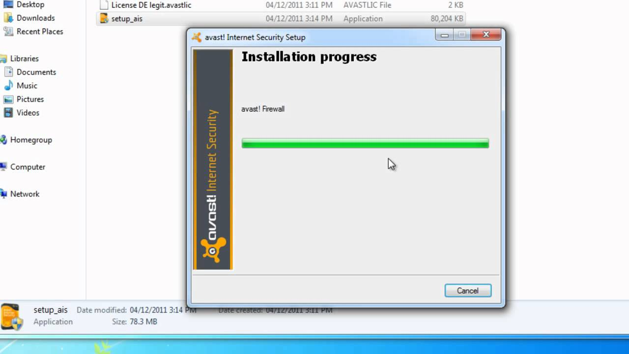 AVAST INTERNET SECURITY LICENCE KEY 2038 TELECHARGER ...