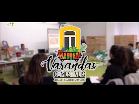 Varandas Comestíveis - Workshop Final de Cozinha e Plantação - Junta de Freguesia de Campolide
