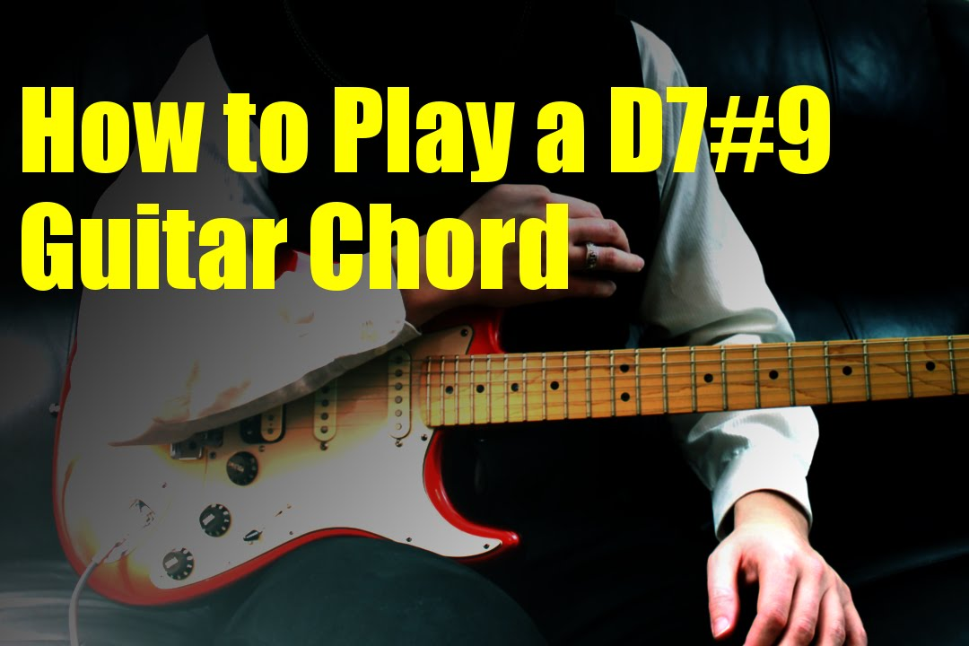How To Play A D79 Guitar Chord Youtube