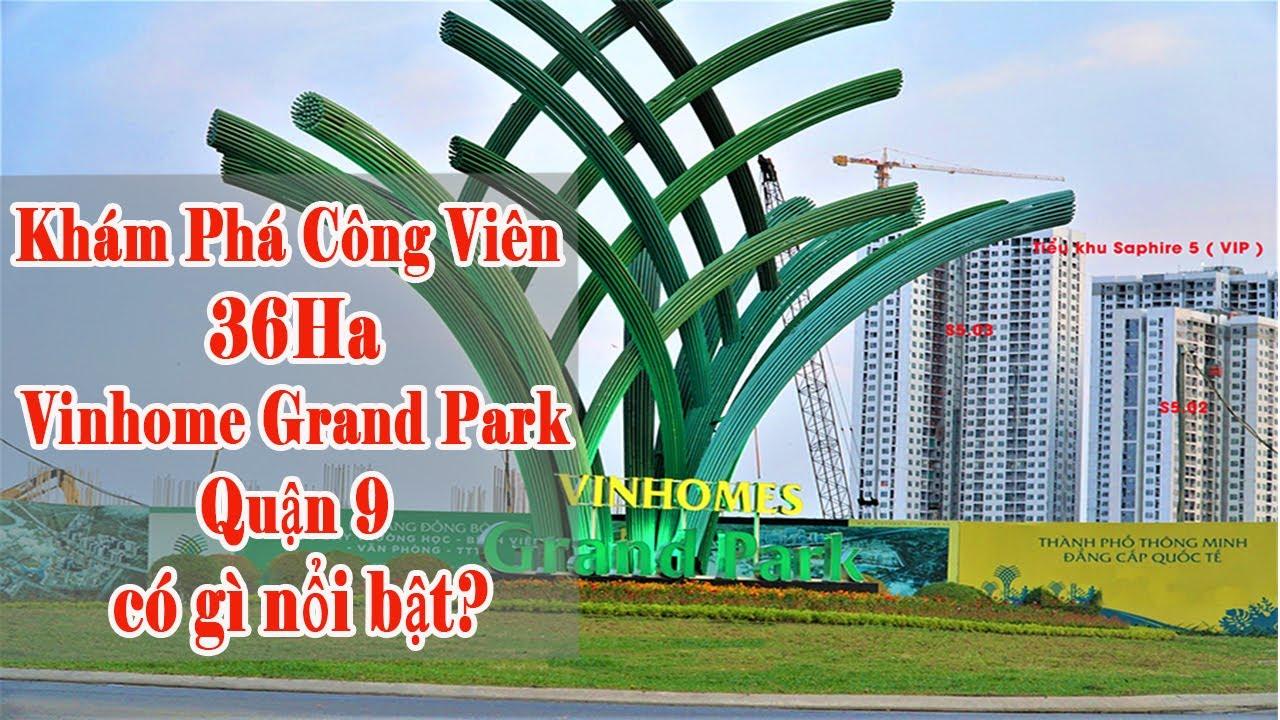 Cập nhật tiến độ dự án Vinhome Grand Park Quận 9 HOT nhất hiện nay