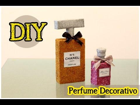 perfumes gigantes para decorar