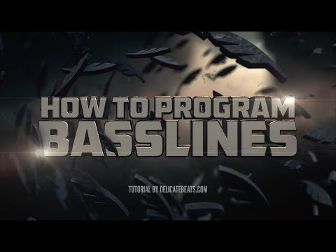 How To Program Bass Lines