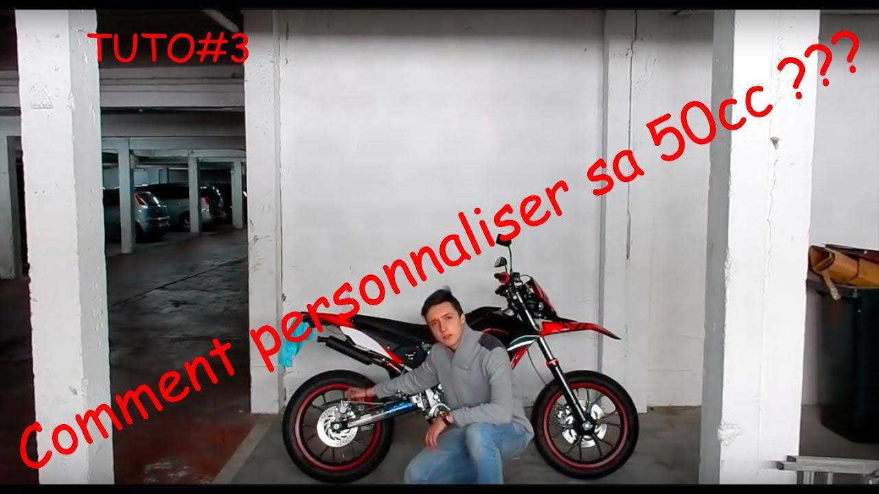 Tuto 3 comment personnaliser sa moto 50cc youtube - Comment personnaliser sa chambre dado ...