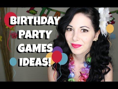 PARTY GAMES IDEAS & BIRTHDAY VLOG!