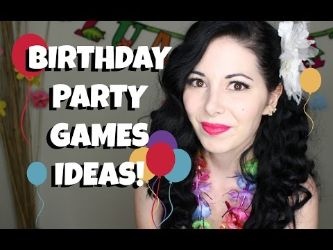 PARTY GAMES IDEAS & BIRTHDAY VLOG!