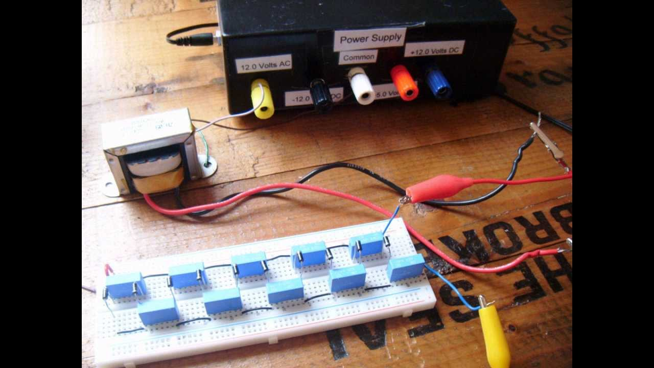 How To Make A Voltage Multiplier Youtube Circuit Diagram Wiring