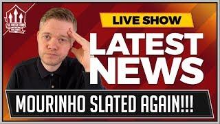 Jose Mourinho Tactics Slammed Again! Man Utd News Now with Mark Goldbridge