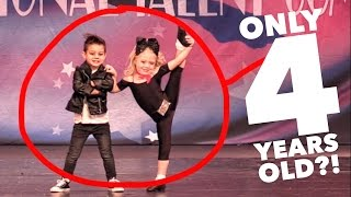 4 YEAR OLDS PERFORMING UNREAL DANCE ROUTINE! AMAZING!! thumbnail