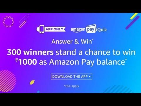 amazon chance to win 1000