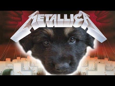 Master Of Puppies (METALLICA Parody) Sing-Along!