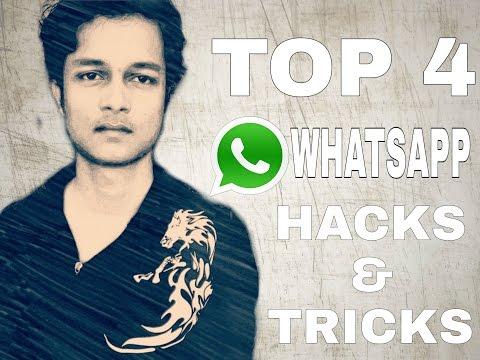 Top 4 Whatsapp Tricks    1000% Real Tricks