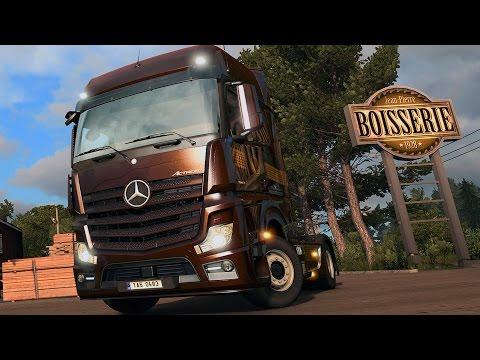 Euro Truck Simulator 2 - Vive la France ! Gameplay (PC HD) [1080p60FPS]