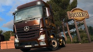 Euro Truck Simulator 2 - Vive la France ! Gameplay (PC HD) [1080p60FPS]
