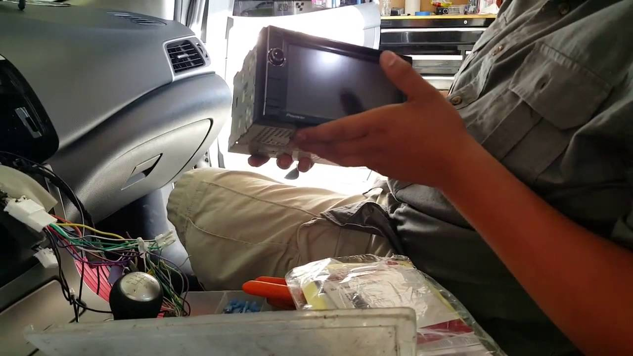 how to install a radio in a 2015 nissan sentra [ 1280 x 720 Pixel ]