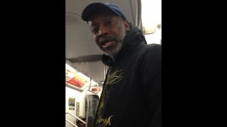 Funny as hell 4 Train Man (Not loud. LOUD) New Video *Must See*