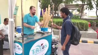Turkish Ice Cream Seller in Delhi NCR | Backpacker Indian