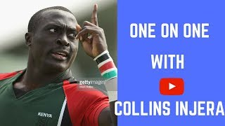 COLLINS INJERA ★ ONE ON ONE WITH THE LEGEND ★ #IsayaQuickFire ★ 2018