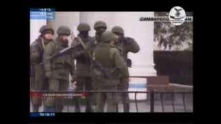 В Симферополе захватили аэропорт - Крым (видео).