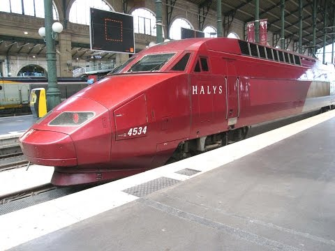 Thalys | trip report | Paris-Nord to Brussels-Midi