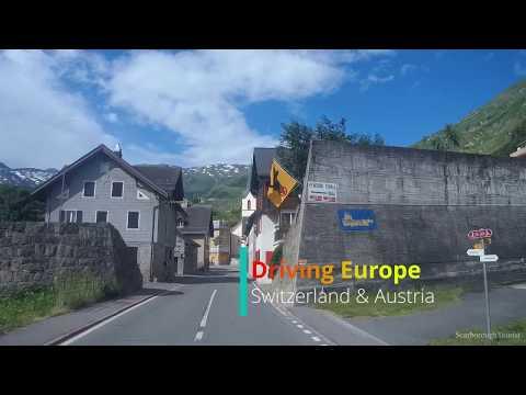 Driving Europe - Switzerland And Austria