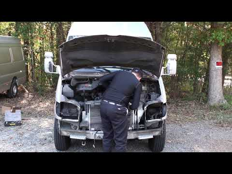 ZIMALETA Fast Five Minute Disassembly Of T1N Sprinter Front End Mercedes made easy