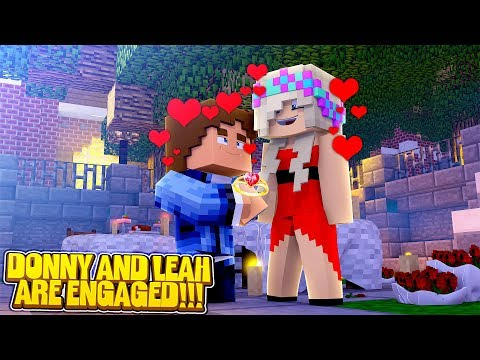 Minecraft LITTLE DONNY & LITTLE LEAH ARE GETTING MARRIED!!!