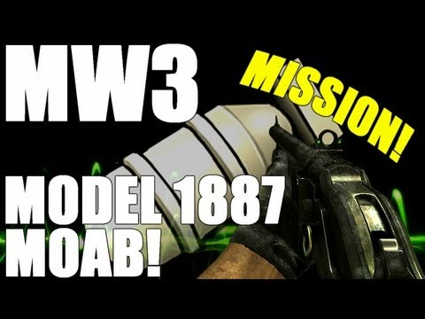 MW3: Model 1887 MOAB on Mission!