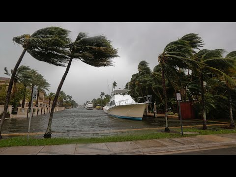 Live view of Hurricane Irma from Ft. Lauderdale, Fla.