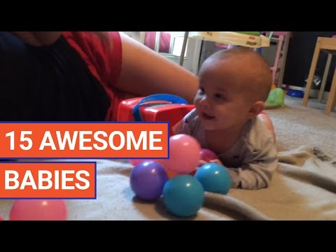 15 Cute Babies Video Compilation 2017