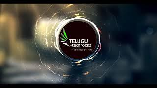 telugu tech rockz channel intro #telugutechrockz