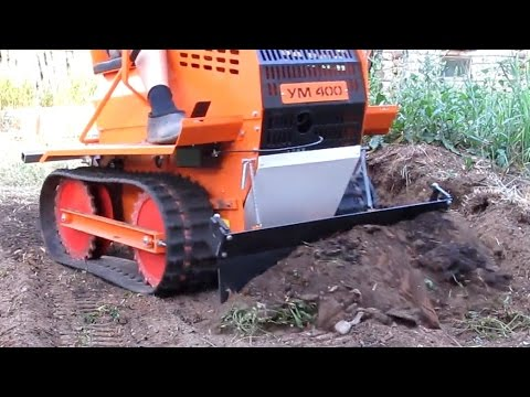 Что может Мини бульдозер? What Can A Mini Bulldozer?