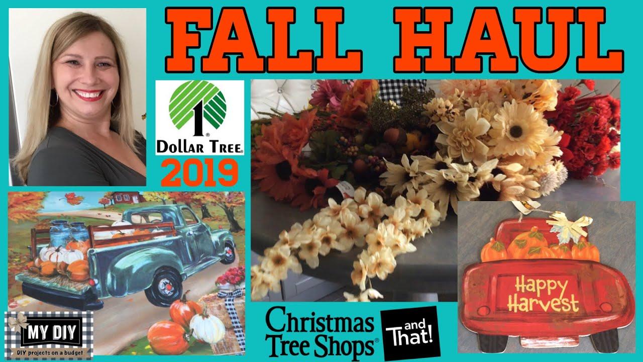 Christmas Haul 2019 FALL HAUL 2019 | Dollar Tree Finds | Christmas Tree Shop