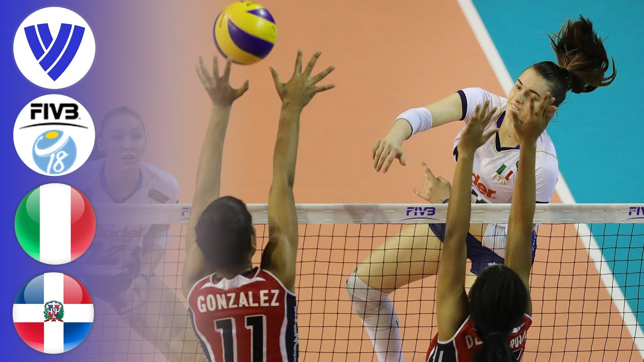 ITA vs. DOM   Full Gold Medal Match   Women's Volleyball U18 World Championship 2017