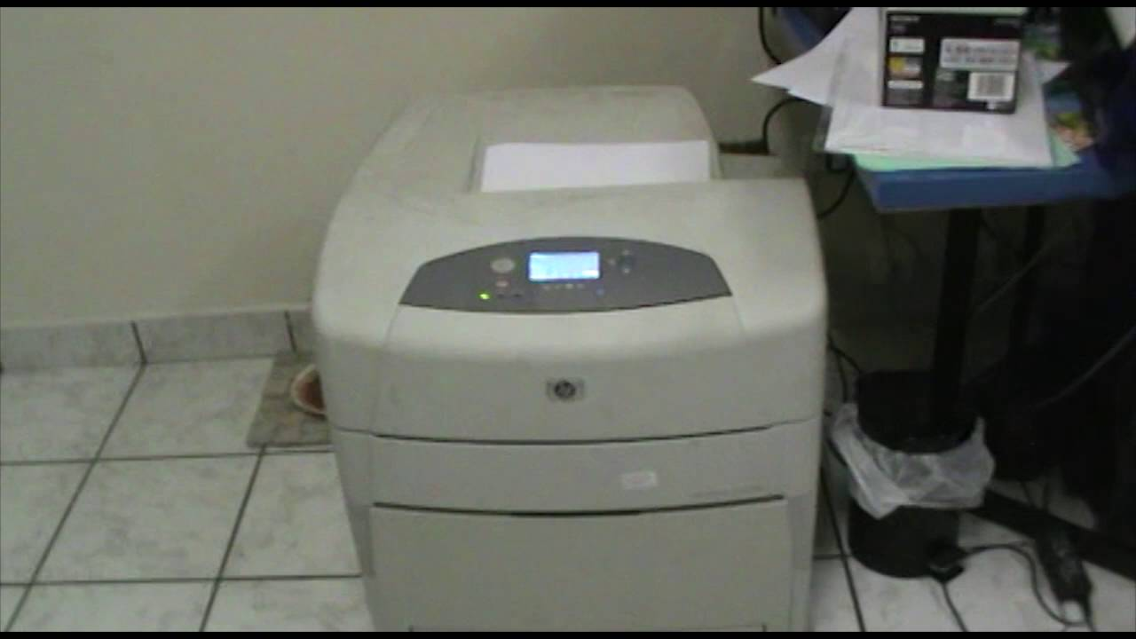 HP PRINTER 5550DN DRIVERS FOR WINDOWS
