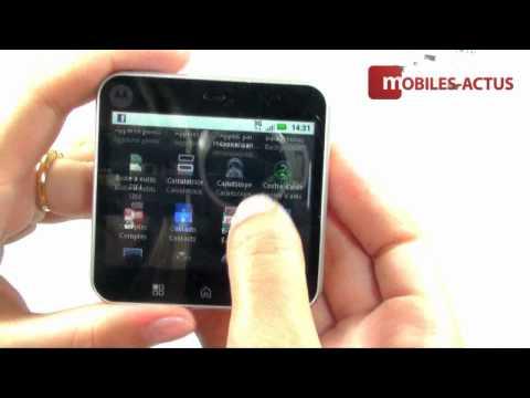 Test Motorola FlipOut - Démo vidéo, revue, prise en main