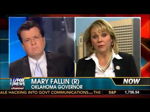 Oklahoma Gov. Mary Fallin on Fox News' Your World with Neil Cavuto