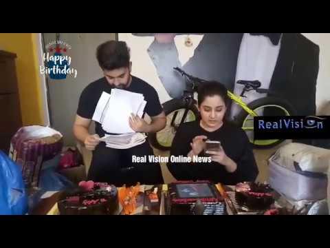 Aditi Rathore Birthday Segment /Zain Imam/AdiZa/AvNeil/Naamkarann Exclusive Real Vision Online News