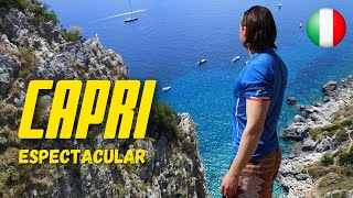 CAPRI, la isla donde los taxis son descapotables! | Viajando con Mirko
