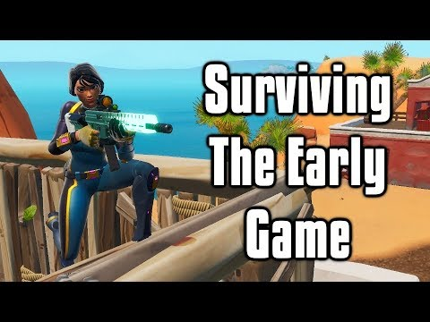 Surviving The Early Game - Arena Tips And Tricks (Fortnite Battle Royale)