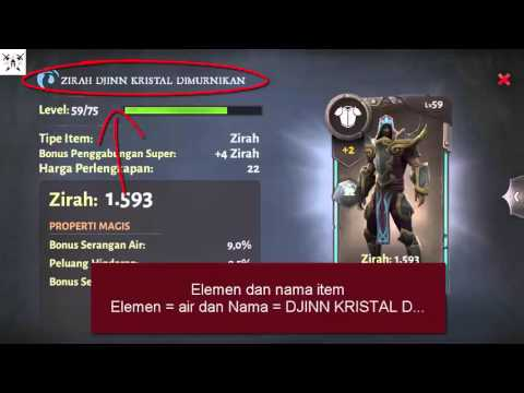 Dungeon Hunter 5  - Tips Penggabungan Item  - Read Item And Fusion Guide