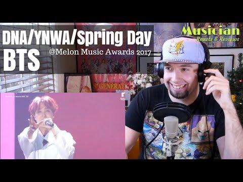 BTS (방탄소년단) - Intro + DNA + YNWA + Spring Day [Melon Music Awards]  | JG-REVIEWS:KPOP