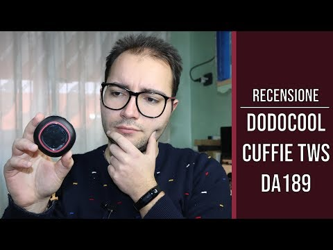 #Dodocool Cuffie True Wireless DA189: la recensione