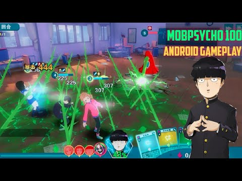 Mob Psycho 100 (路人超能100:灵能) Android Gameplay || New Anime RPG Game