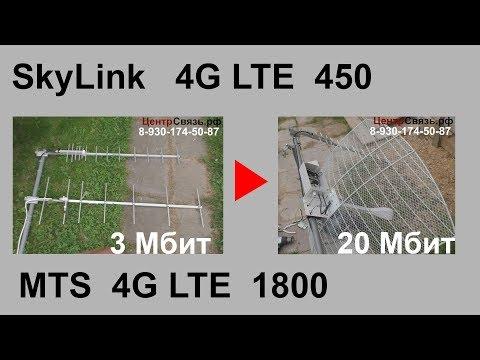 Skylink LTE 450  в топку, ставим LTE 1800 MTS